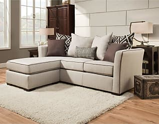 United Furniture Simmons Upholstery Stewart Sofa with Chaise - UDF486-1