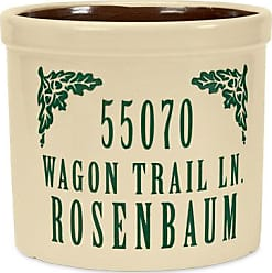 Whitehall Personalized Crock With Name And Address