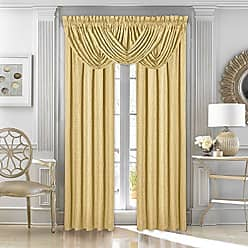 Five Queens Court Sutherland Woven Jacquard Panel, 50 x 84, Gold