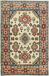 Nain Trading Kazak Rug 51x35 Beige/Orange (Afghanistan, Hand-Knotted, Wool)