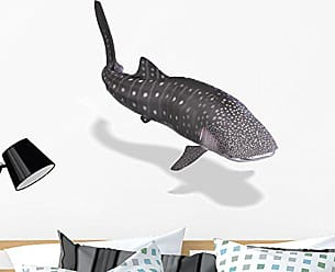 Wallmonkeys Whale Shark Wall Decal Peel and Stick Graphic WM28697 (36 in H x 36 in W)