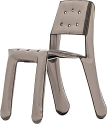Zieta Limited Edition Chippensteel 0.5 Chair In Raw Lacquered Steel By Zieta