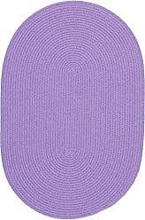Rhody Rug Fun Braids Solid Violet 10X13 Oval