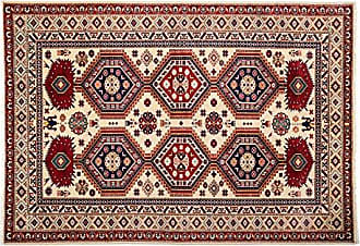 Solo Rugs Shriven Hand Knotted Area Rug, 4 10 x 7 0, Multi