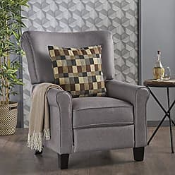 GDF Studio Christopher Knight Home 302305 Thelma Recliner, Light Grey