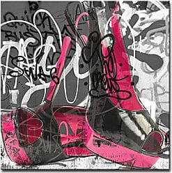 Ready2HangArt Ready2hangart Urban Fashion XVI Canvas Art, H x 20 W, Pink