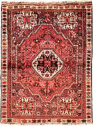 Nain Trading Ghashghai Rug 50x38 Modern/Design Orange/Pink (Hand-Knotted, Wool, Iran/Persia)