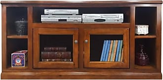 American Heartland 66 in. Highboy Poplar TV Stand - Assorted Finishes