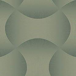 Portodesign Papel de Parede Vinílico Rolo Modern Nature CZ2444 Porto Design Verde Acinzentado