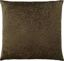 Monarch Specialties Floral Velvet 18 x 18 Dark Green 1 Piece Pillow
