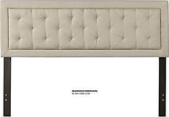 Hillsdale Furniture 2132HKRF La Croix Headboard with Frame King Fog