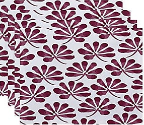 E by Design E by design Ina Floral Print Placemat 18 x 14 Purple