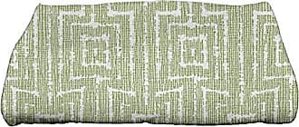 E by Design Ebydesign Woven Tiki Geometric Print Bath Towel 28 x 58 Orange