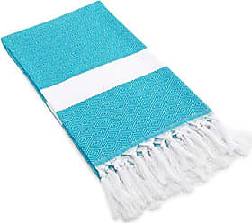 Linum Home Textiles Diamond Pestemal Diamond Pestemal, Turquoise