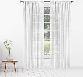 Bedroom - Small Window Curtain for Cafe White /& White Bath Shilah Printed Strawberry Fruit Print Linen Textured Kitchen Tier /& Valance Set Home Maison Laundry