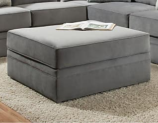 United Furniture Simmons Upholstery Abington Cocktail Ottoman - 8530BR-097 ABINGTON SEVEN SEAS