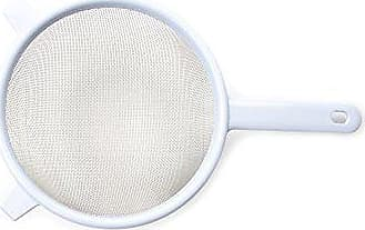 Fox Run Craftsmen Farm to Table 5884 Strainer, 7-Inch, Stainless Steel Mesh with Plastic Handle