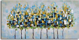 Omax Decor Metropolis Trees Canvas Wall Art - A 0162