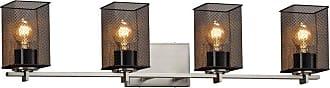 Justice Design Wire Mesh Era MSH-8444-15 Bathroom Vanity Light - MSH-8444-15-CROM