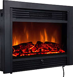 Costway 28.5 Electric Embedded Insert Heater Fireplace