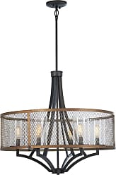 Minka Lavery Marsden Commons Chandelier in Smoked Iron W/Aged Gold