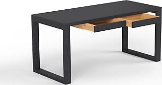 Tables pour bureau en noir produits soldes jusqu à −