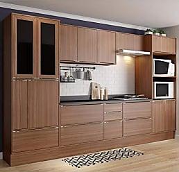 Multimóveis Cozinha Compacta Calábria 14 Portas Nogueira Multimóveis