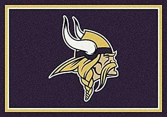 Milliken Carpet Minnesota Vikings NFL Team Spirit Area Rug by Milliken, 310 x 54, Multicolored