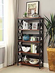 Convenience Concepts 203050CH Bookcase, Cherry/Black
