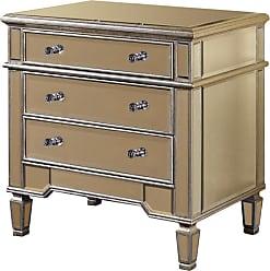 Elegant Lighting 3 Drawer Cabinet 30x20x30H SC