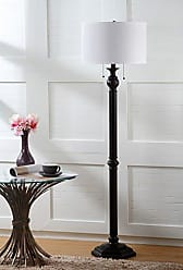 Safavieh Lighting Collection Jessie Oil-Rubbed Bronze 58.75-inch Floor Lamp