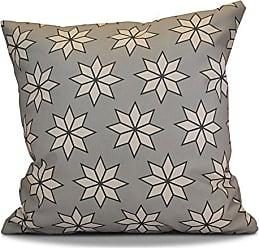 E by design O5PGN429BL37-18 Printed Outdoor Pillow