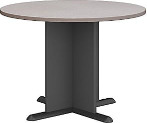 Bush Furniture Bush Business Furniture Series A & C 42 Inch Round Conference Table in Pewter