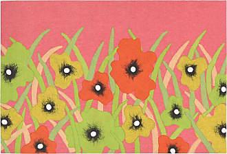 Liora Manne Visions III 3275/37 Wildflower Blush Indoor / Outdoor Door Mat - VRC12327537