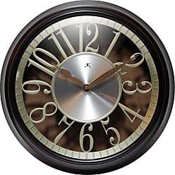 Infinity Instruments Leeds 15 in. Wall Clock - 14992WL-GD