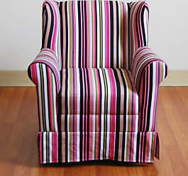 4D Concepts Wingback Arm Chair - Striped, Girls - K3837-A192