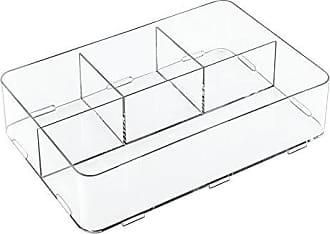 10.25x30.5x7.5 cm Diviso InterDesign Clarity Organizzatore Cassetti Extra Grande