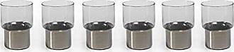Zodax Como Glasses Rock Glass, Smoke (Set of 6)