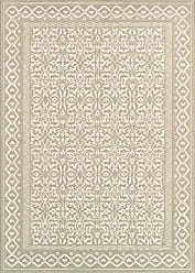 Couristan Couristan Marina 8962/0120 Rug, 2-Feet by 3-Feet 11-Inch, Ibiza/Oyster