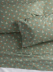 Simons Maison Little fox percale sheet 200 thread count Fits mattresses up to 15 in