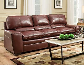 United Furniture Simmons Upholstery Medusa Sofa - 9085-03 MEDUSA CINNAMON
