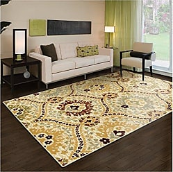 Home City Inc. Superior Augusta Collection Area Rug, 8mm Pile Height with Jute Backing, Woven Fashionable and Affordable, 5 x 8 - Camel