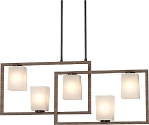 Volume Lighting 5565 Paxton 5 Light 38 Wide Linear Chandelier with