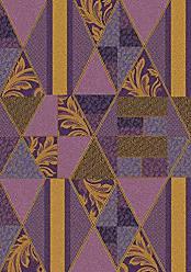 Milliken Carpet Milliken 4000032371 Pastiche Collection Valencia Area Rug 77 x 77 Square Lilac