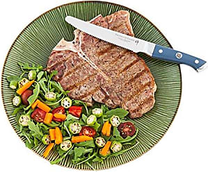 Restaurantware Steak Knife, 5.5 Inch Steak Knife - Durable VG-10 Steel, Stain Resistant - Professional Grade, Commercial Grade - 4ct Box - Restaurantware