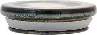 Home&Co Potiche com Tampa em Cerâmica Cayo 8cm Petróleo - Home&co