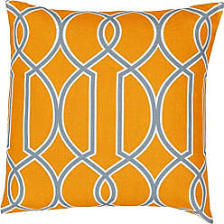 Surya FF037-2222D Down Fill Pillow, 22 by 22-Inch, Tangerine