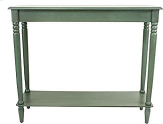Decor Therapy FR1578 Simplify Large Console Table, Antique Teal