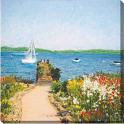 West of the Wind Ready To Enjoy Indoor/Outdoor Canvas Art - 80260-24