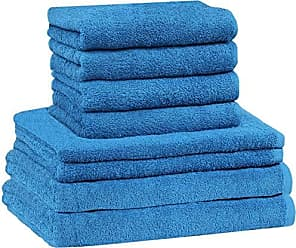 Duschtuch royal blau 70x140 cm Baumwolle schnelltrocknend Frottee Frottiertuch